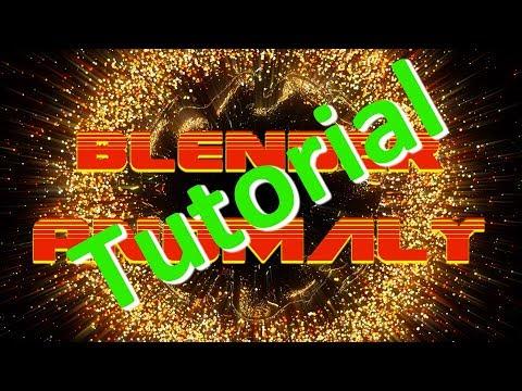 Blender Tutorial - Anomaly