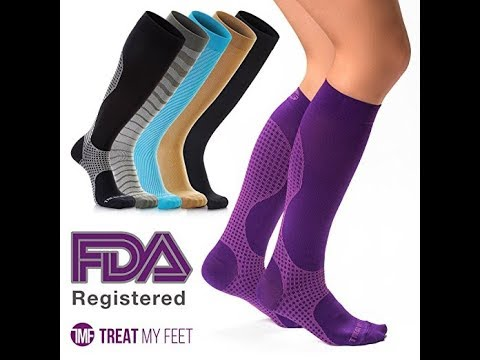 Treat My Feet Knee High Compression Socks Product Review By Briana Booker