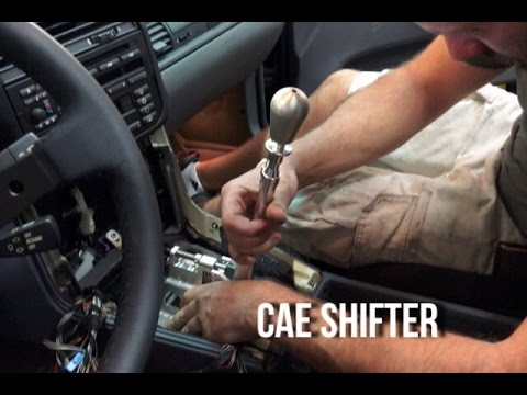 Installing a CAE shifter into the e36 m3