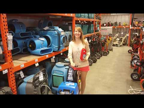 Rug Doctor Carpet Cleaner Rental From Home Depot