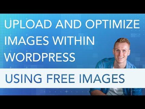 Optimize Images Within Wordpress Using Free Images