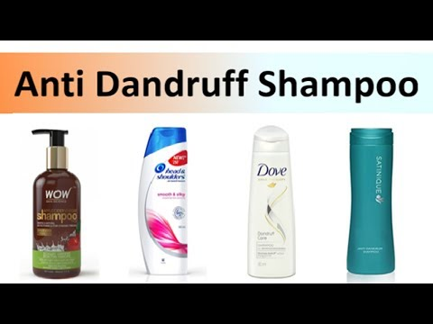 10 BEST ANTI DANDRUFF SHAMPOO IN INDIA