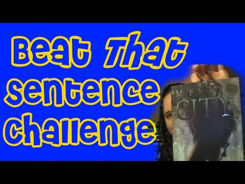 Beat THAT Sentence Challenge Tag
