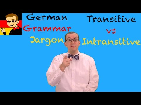 Transitive vs Intransitive Verbs - German Grammar Jargon - German Learning Tips #59 - Deutsch lernen