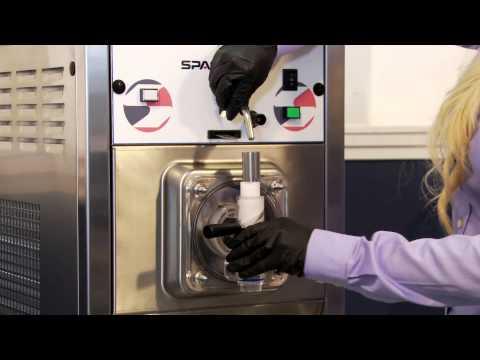 Spaceman 6490H Frozen Beverage Machine, Shake, and Slush Machine Start Up