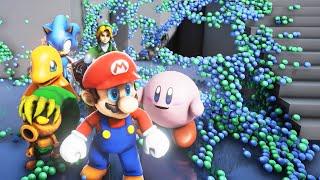 The Most Beautiful Nintendo Demo Ever - (Unreal Engine 4 / Nvidia Flex Techdemo)