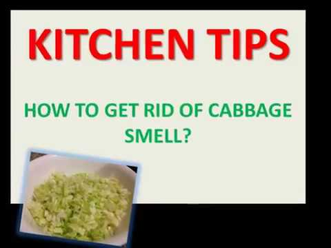 HOW TO GET RID OF CABBAGE SMELL?