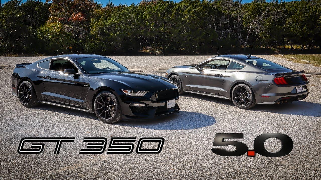 2017 Shelby GT350 Versus 2020 Mustang GT | Clash of The Ponies