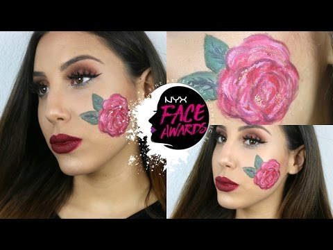 NYX FACE AWARDS EMBROIDERY INSPIRED MAKEUP (Mirella Derungs)
