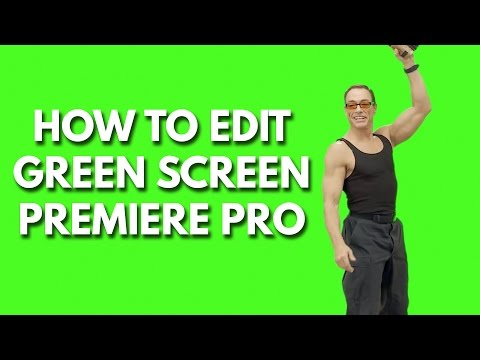 How to chroma key in adobe premiere pro chroma key remove background tutorial