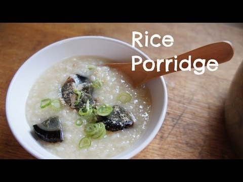 How to Make Jok (Congee, Rice Porridge)