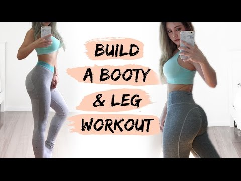 BOOTY Workout | Build A Bigger Butt Fitness Routine