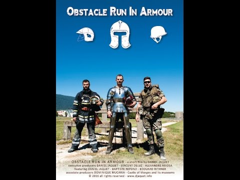 Obstacle Run in Armour - a short film by Daniel Jaquet