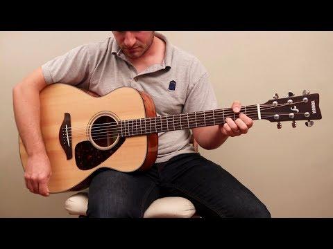 5 Best Yamaha Acoustic Guitars 2017 | The World's Best Starter Guitars