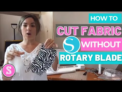 How to Cut Fabric with Silhouette Cameo