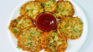 Cheese Potato Pancakes || Potato Cheese Pancakes