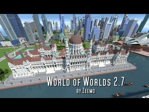 Minecraft | World of Worlds 2.7