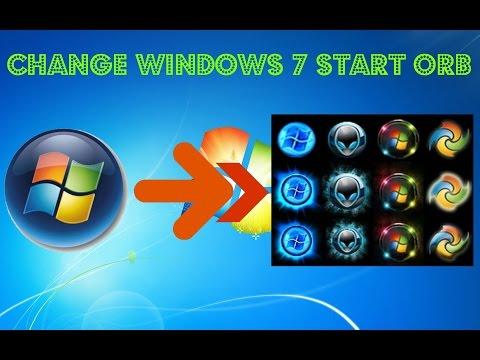 Change Windows Start Button