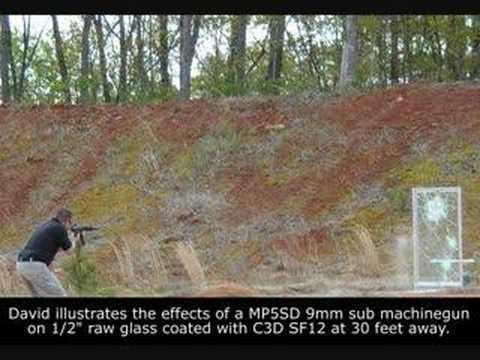 C3D Window Film Ballistics Demonstration