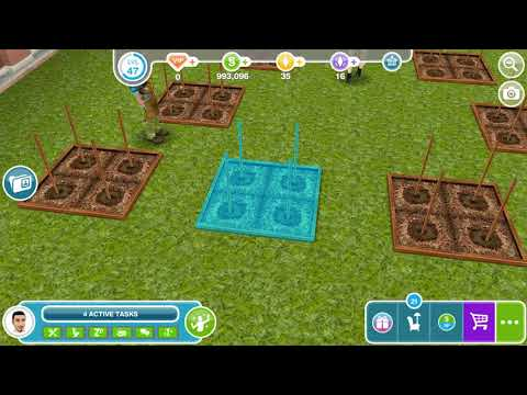Grow And Harvest A Plant - Weekly Task - Sims Freeplay