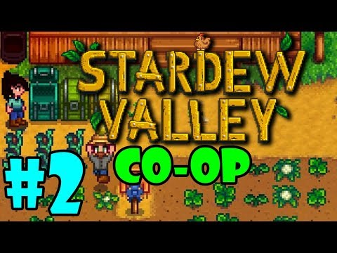 Stardew Valley MULTIPLAYER - BLIND Playthrough - Part 2 (Beta)