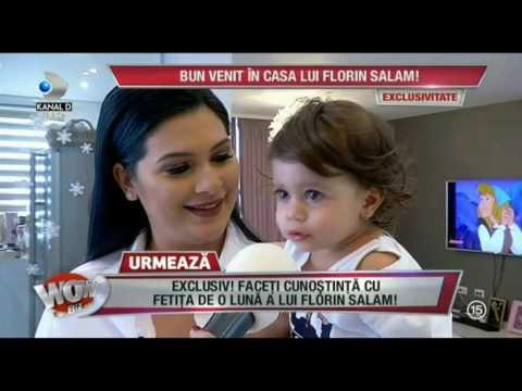 WOWBIZ (23.01.2017) Imagini WOW din casa lui Florin Salam si a Roxanei Dobre