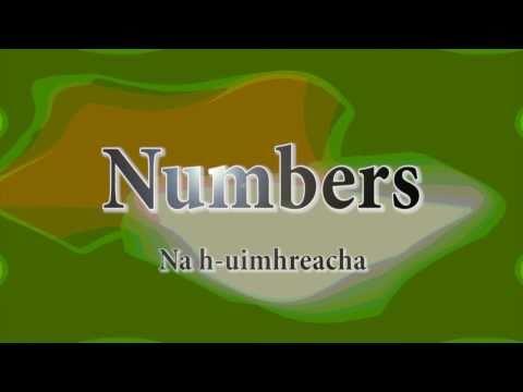 Learn Irish: Numbers 1-10
