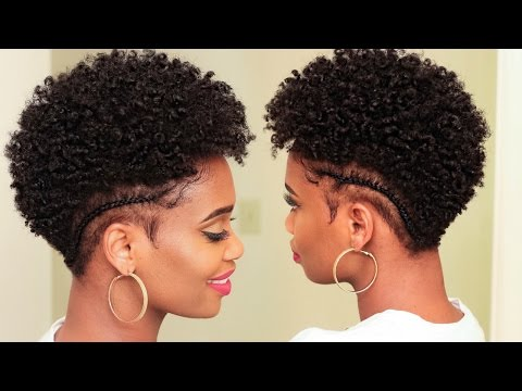 Defined Moisturized Curls on Tapered Natural Hair | MissKenK