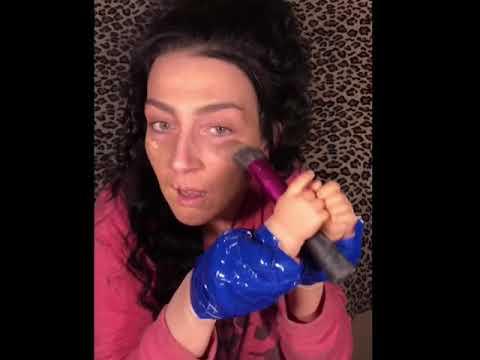Tiny hands makeup challenge/420 edition