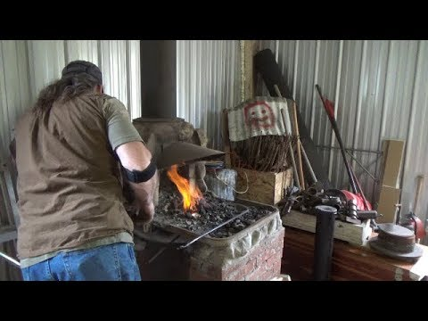 Moving OSF Shorts - Lighting The Forge For The First Time In The New Shop