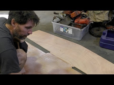 Making a plywood transom
