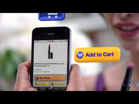 Amazon Mobile Shopping App Commercial Amazon Mobile