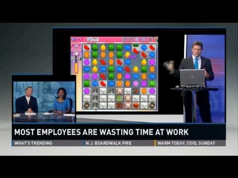 Majority of employees wasting time at work