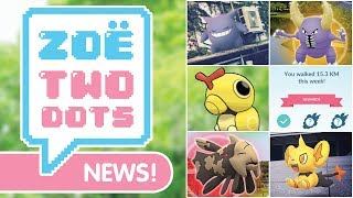 NEW FITNESS GOALS, SHINY GENGAR, MOLTRES vs. SHEDINJA & MORE! ZTD News Pokémon GO