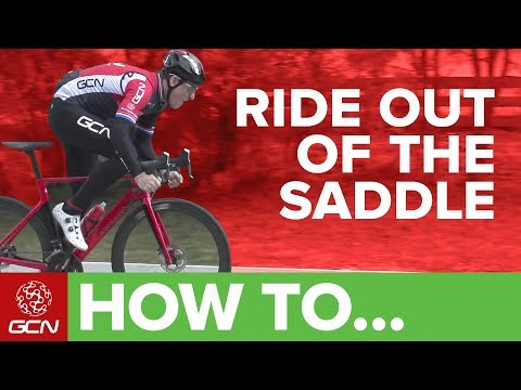 How & When To Ride Out Of The Saddle When Riding A Bike | GCN's Pro Tips