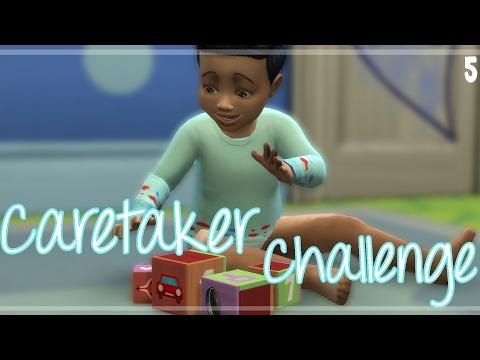 The Sims 4   Caretaker Challenge   Part 5   Maxing Skills!