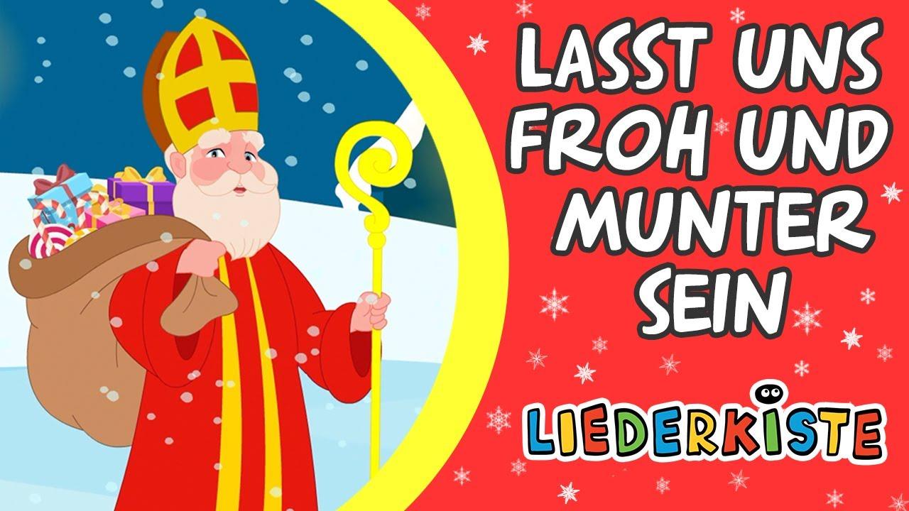 Lasst uns froh und munter sein - Weihnachtslieder zum Mitsingen   Liederkiste