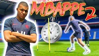 HOW FAST IS MBAPPE?! 💨👀 PSG SPEED TEST! MBAPPE VS CAVANI VS DI MARIA & more! FIFA20 RATINGS 🎮⚽️🔥