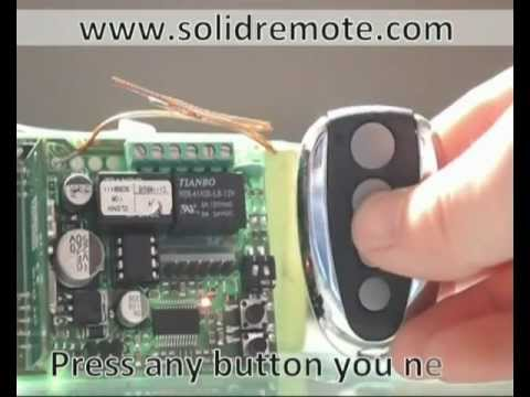 BFT Mitto & B RCB TX4 compatible remote control