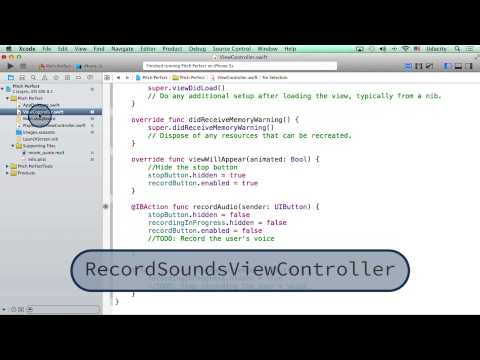 Renaming ViewController - Intro to iOS App Development with Swift
