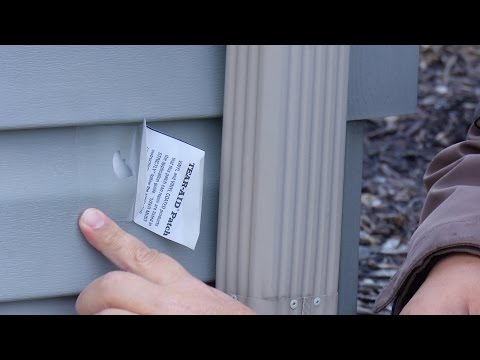 How to Patch a Hole in Vinyl Siding in 3 Minutes