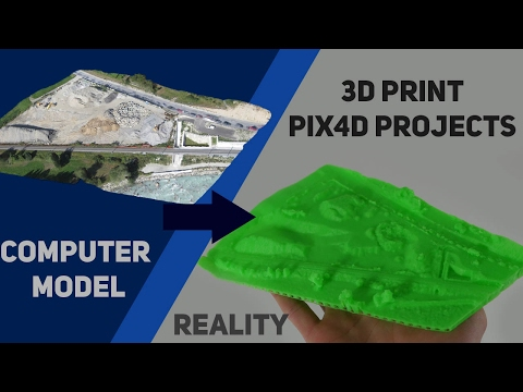 How to 3D print Pix4D Projects