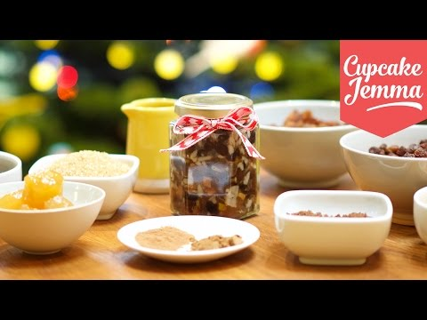 Make your own Mincemeat - perfect Mince Pie filling for Christmas! | Cupcake Jemma