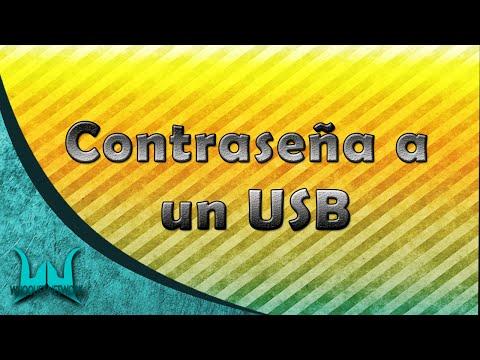 COMO PONER CONTRASEÑA A UN USB | SIN PROGRAMAS