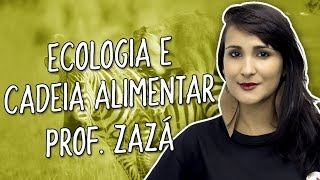 Semi-Intensiva - Ecologia e cadeia alimentar - Biologia - Prof. Isabela Santos