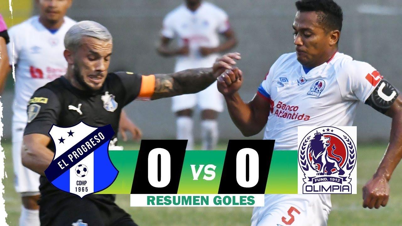 Honduras Progreso vs Olimpia 0-0 Resumen Liga Nacional 2021