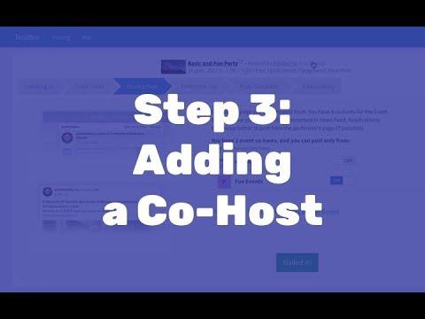 2-5 Step 3: Adding an Event Co-Host