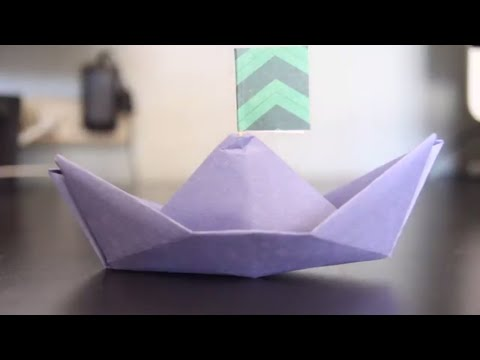 DIY PAPER BOATS - AUTUMN TEACHES ORIGAMI