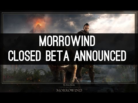 Closed Beta Announced - Morrowind