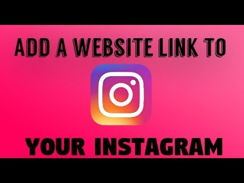 How To Add Your Website On Your Instagram Account In PC